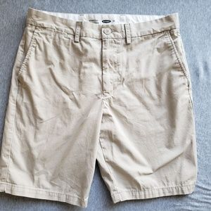 Old Navy Ultimate Slim-Fit Khaki Shorts